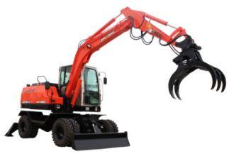 晋工JGM9085LNZ-9轮式挖掘机高清图 - 外观