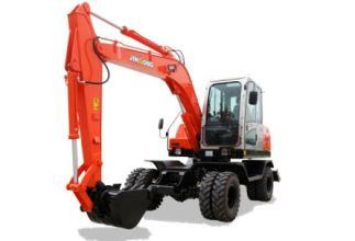 晋工JGM9075LN-9轮式挖掘机高清图 - 外观