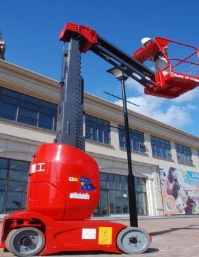 美通重工IMP100J桅柱式高空作业平台