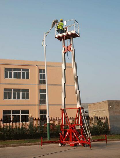 美通重工CMP-16桅柱式高空作业平台高清图 - 外观