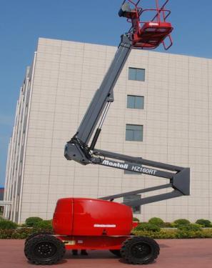 美通重工HZ160 JRT自行式曲臂型高空作业平台