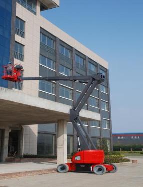 美通重工HZ160 DC自行式曲臂型高空作业平台
