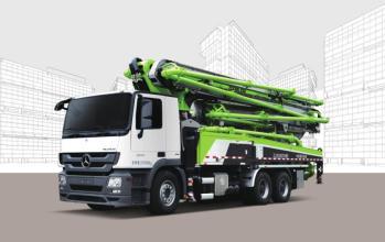 中联重科ZLJ5330THBJE 49X-6RZ泵车高清图 - 外观