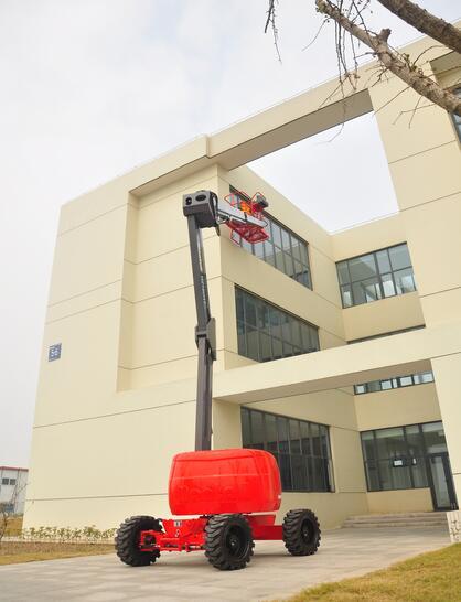 美通重工HZ260 JRT自行式曲臂型高空作业平台高清图 - 外观