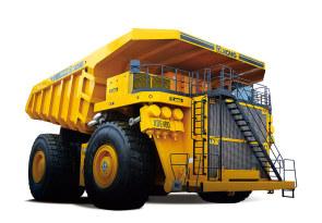 徐工XDE400电传动自卸车