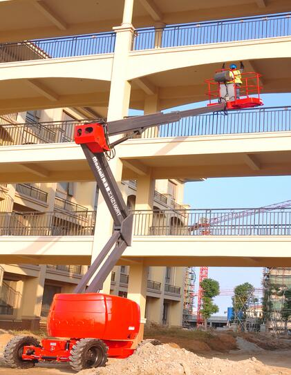 美通重工HZ140 JRT自行式曲臂型高空作业平台高清图 - 外观