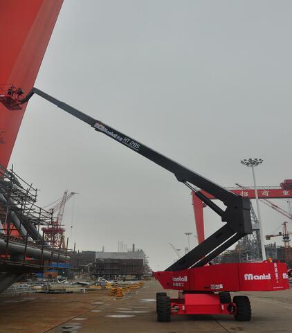 美通重工HT 390自行式直臂型高空作业平台高清图 - 外观