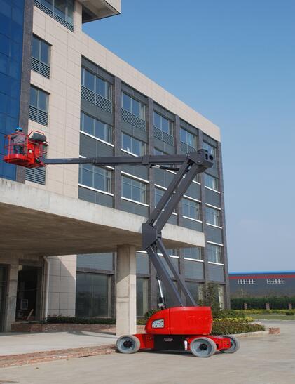 美通重工HZ140 JDC自行式曲臂型高空作业平台高清图 - 外观