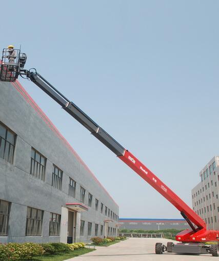 美通重工HT 410J自行式直臂型高空作业平台高清图 - 外观