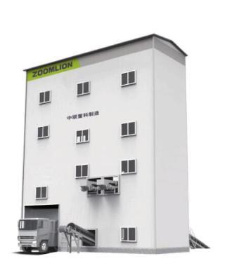 中联重科ZSL100楼式高品质机制砂石生产线