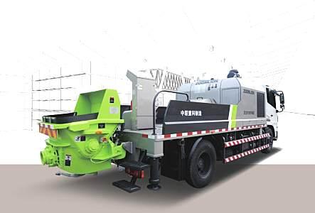 中聯重科ZLJ5140THBJE-10022R車載泵