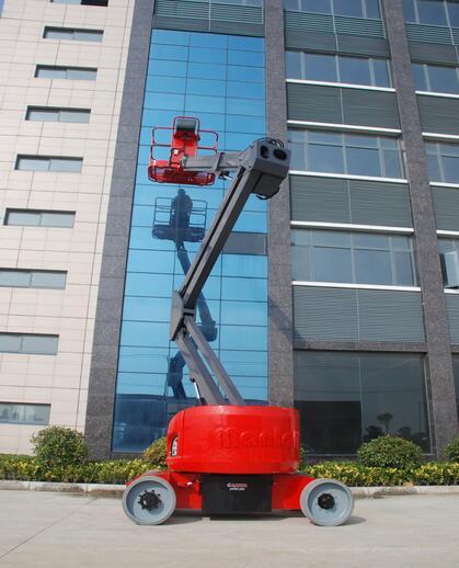 美通重工HZ140 DC自行式曲臂型高空作业平台高清图 - 外观