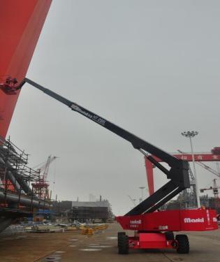 美通重工HT 200自行式直臂型高空作业平台