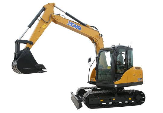 徐工XE80D挖掘机高清图 - 外观