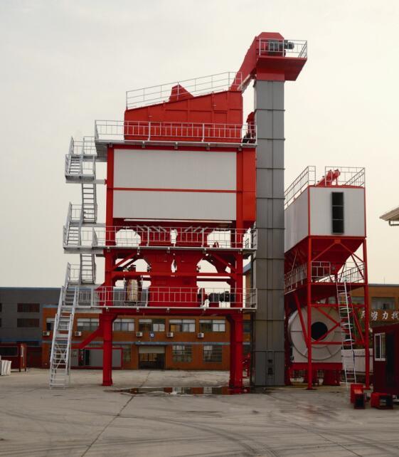 恒云科技HBG系列高端沥青混合料搅拌设备高清图 - 外观