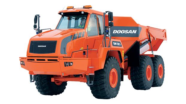 斗山DA30铰接式自卸卡车高清图 - 外观