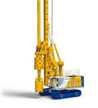 德国宝峨BG36H多功能型旋挖钻机 (BS 95 主机)
