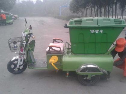 天翔小型纯电动保洁车高清图 - 外观