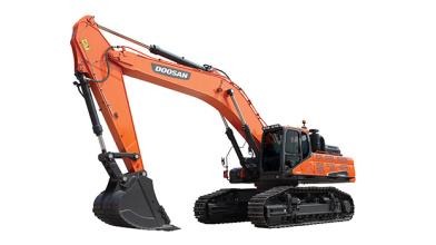 斗山DX500LC-9C挖掘机高清图 - 外观