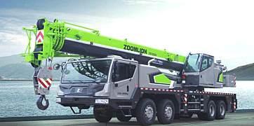 中联重科ZTC550V汽车起重机