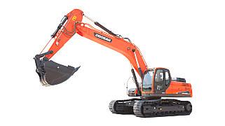 斗山DX300LC-9C挖掘机