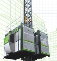 中联重科SC200/200BD倾斜式施工升降机