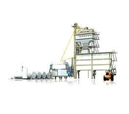 南方路机PLB4000旁通式沥青混合料搅拌设备
