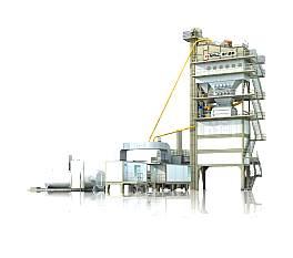 南方路机GLB1500高位式沥青混合料搅拌设备