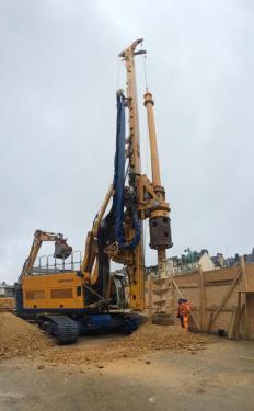 德国宝峨BG 26专用型旋挖钻机