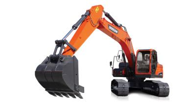 斗山DX220LC-9C挖掘机高清图 - 外观