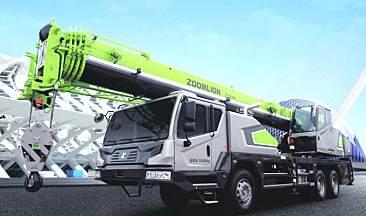 中联重科ZTC250V汽车起重机