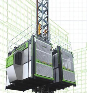 中联重科SC200/200倾斜式施工升降机