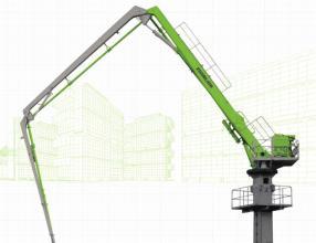 中联重科HGC29A-3R混凝土布料机高清图 - 外观