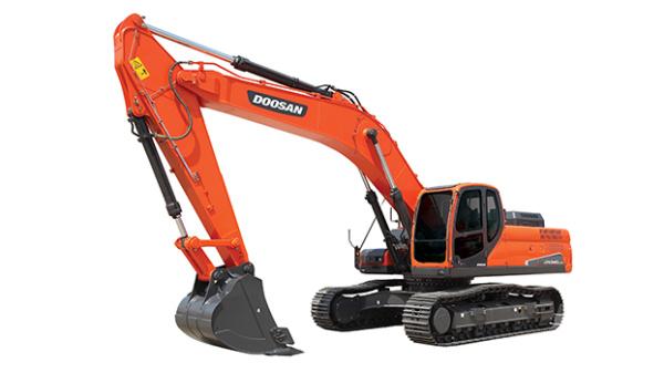 斗山DX340LC-9C挖掘機