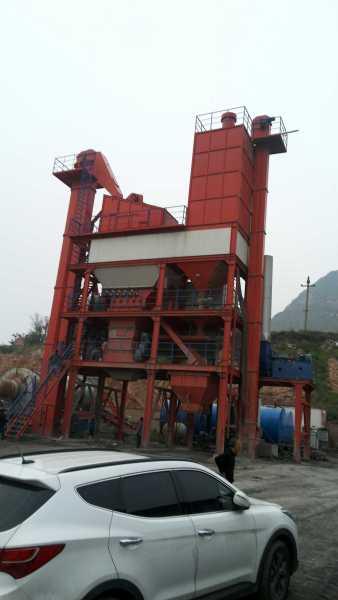 恒云科技LBM-2000型沥青混合料搅拌成套设备