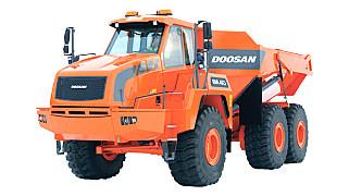 斗山DA40铰接式自卸卡车
