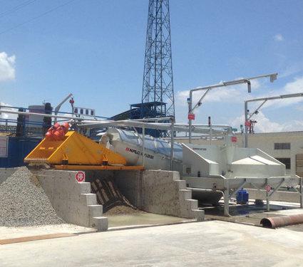 南方路机YCRP40系列湿混凝土回收设备