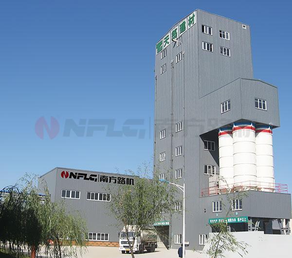 南方路機FBT高塔式干混砂漿成套設備高清圖 - 外觀