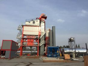 恒云科技HBG-4000型沥青混合料搅拌成套设备(高配)高清图 - 外观