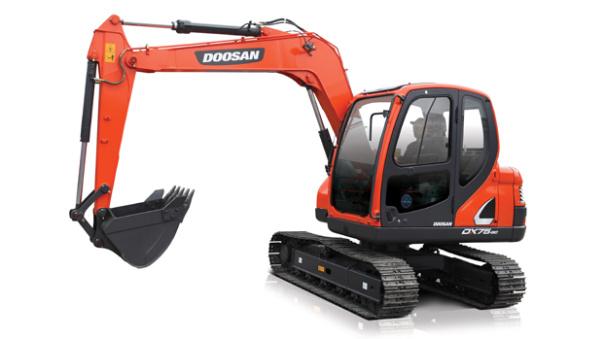 斗山DX75-9C挖掘機