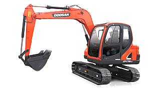 斗山DX75-9C挖掘机