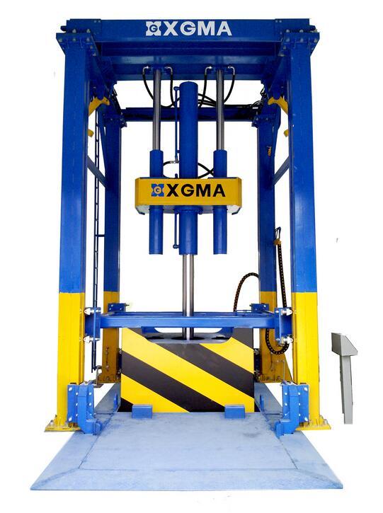 厦工VYZ100(垂直式)垃圾压缩中转站高清图 - 外观