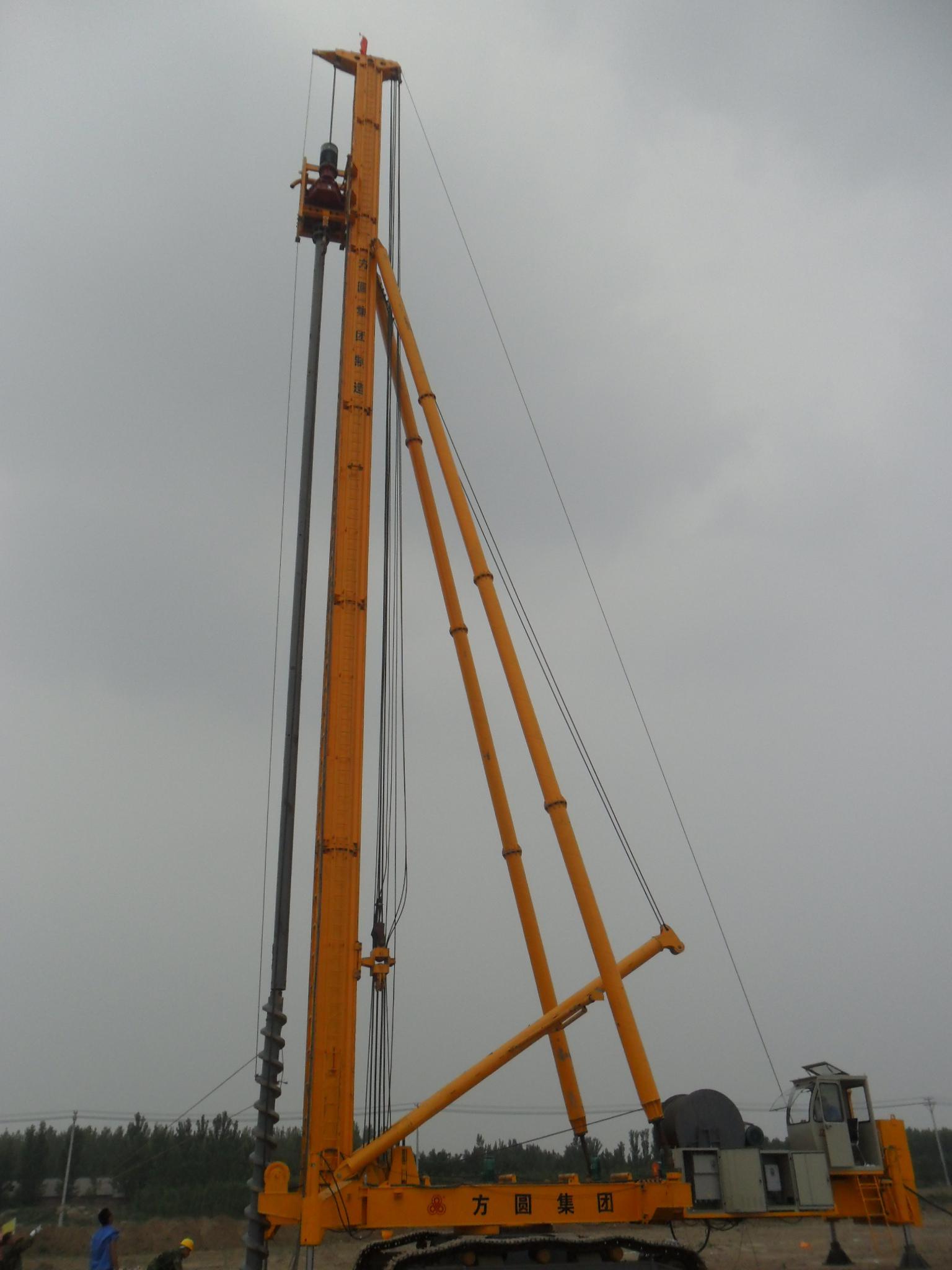 方圆JZW90螺纹桩机高清图 - 外观