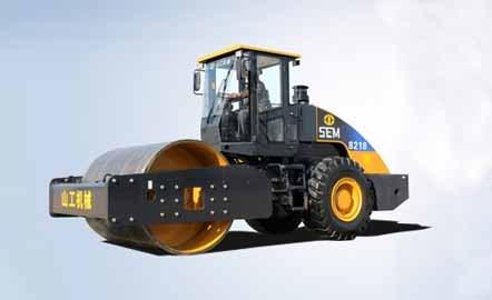 山工SEM8218單鋼輪壓路機