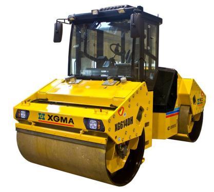 厦工XG611DH双钢轮振动压路机