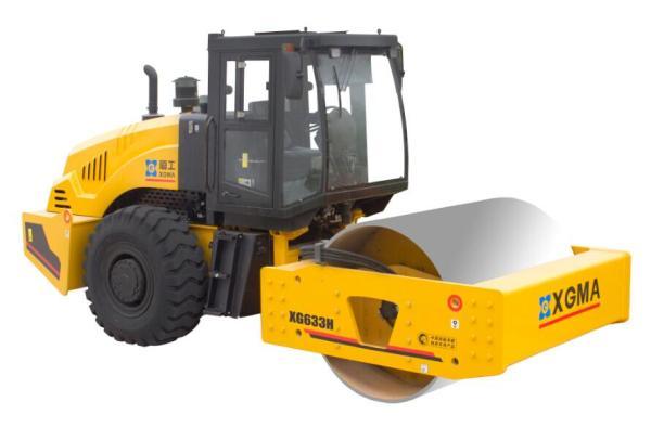厦工XG633H全液压单钢轮压路机