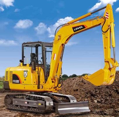 雷沃重工FR65E挖掘机