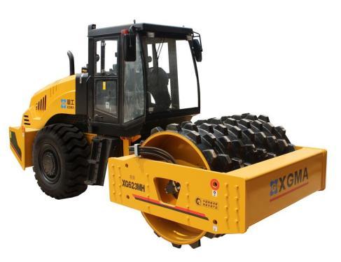 厦工XG623MH机械式单钢轮振动压路机