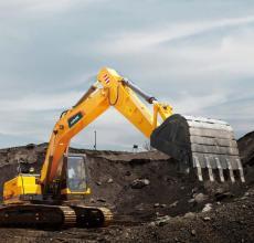 雷沃重工FR220E挖掘机高清图 - 外观