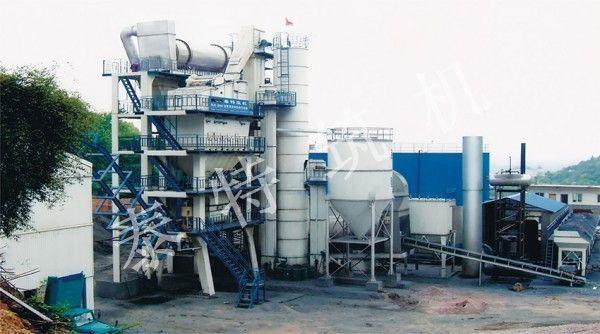無錫泰特RLB-4000熱再生瀝青攪拌設備